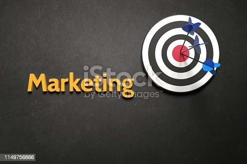 625727674 istock photo Target Market of the company 1149756866