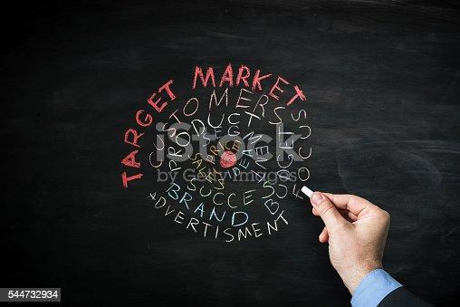istock Target market 544732934