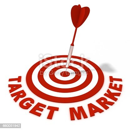 istock Target marketing concept 660051942