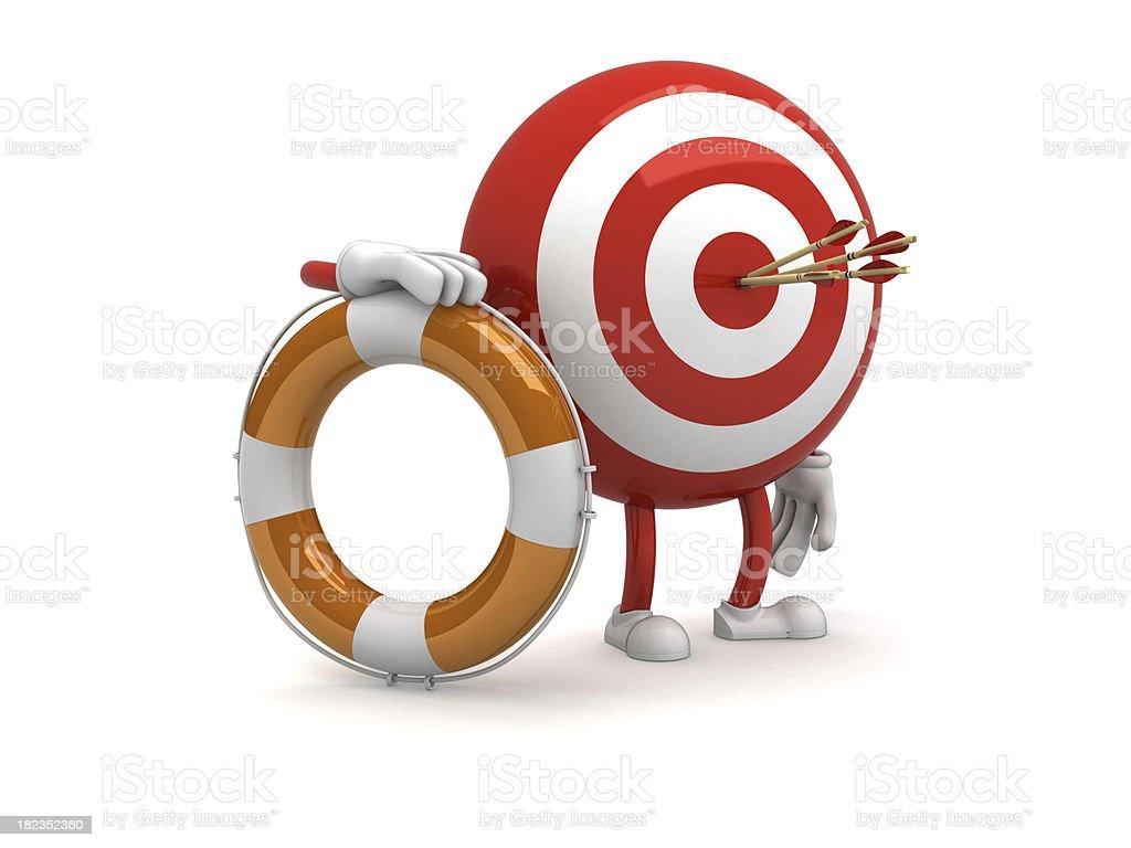 Target royalty-free stock photo