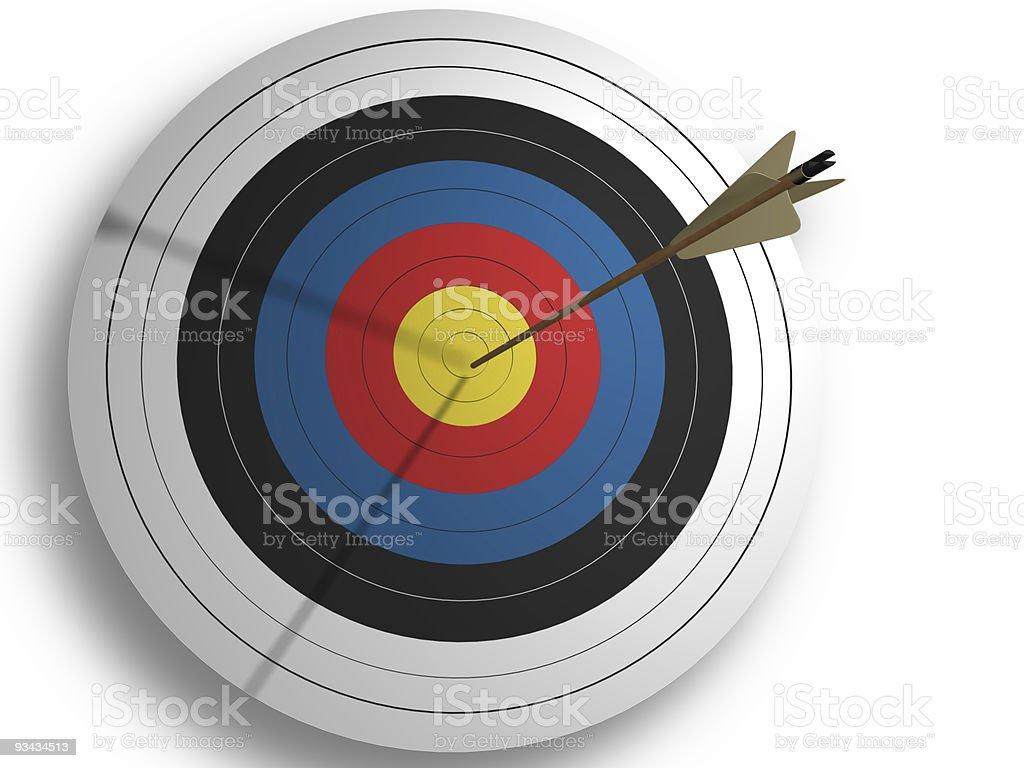Target Lizenzfreies stock-foto