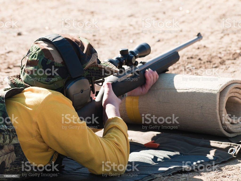 Target Practice stock photo