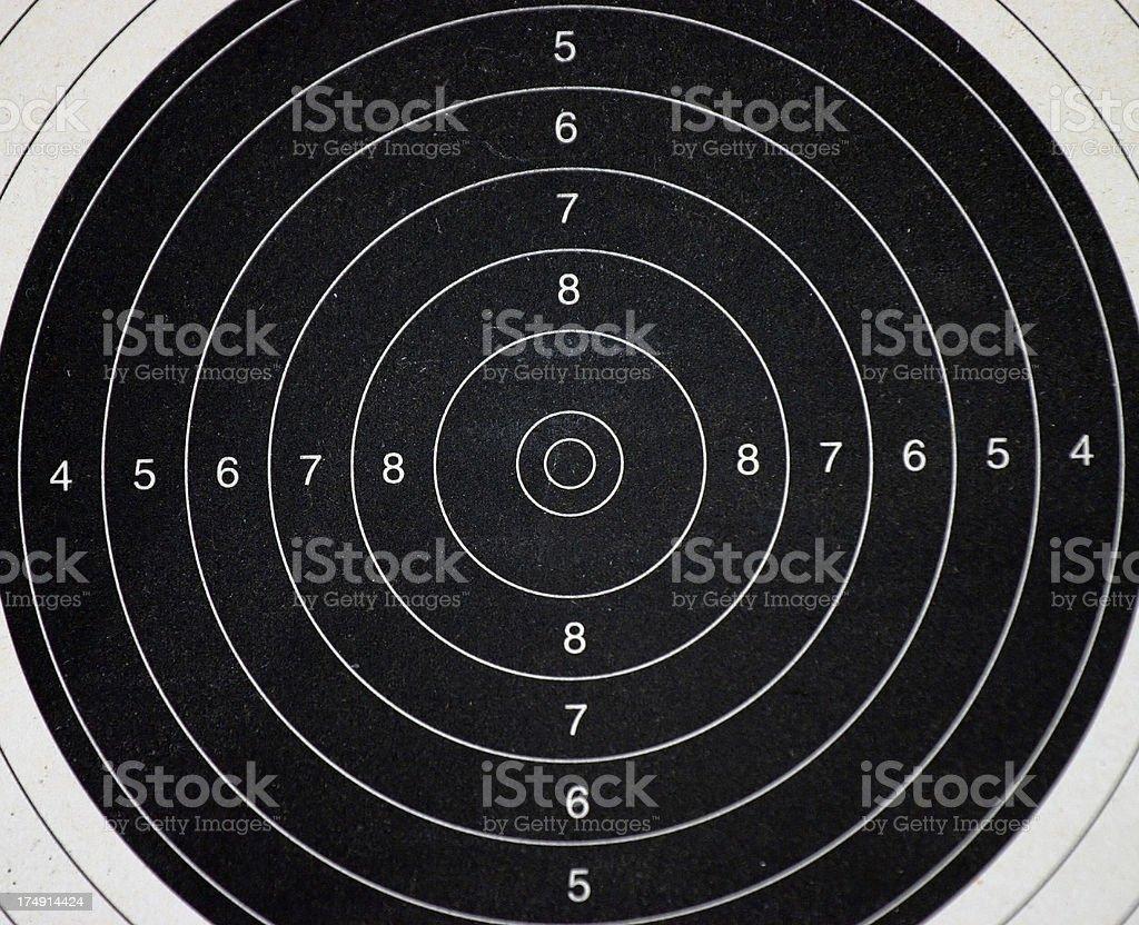 Target Practice #3 royalty-free stock photo