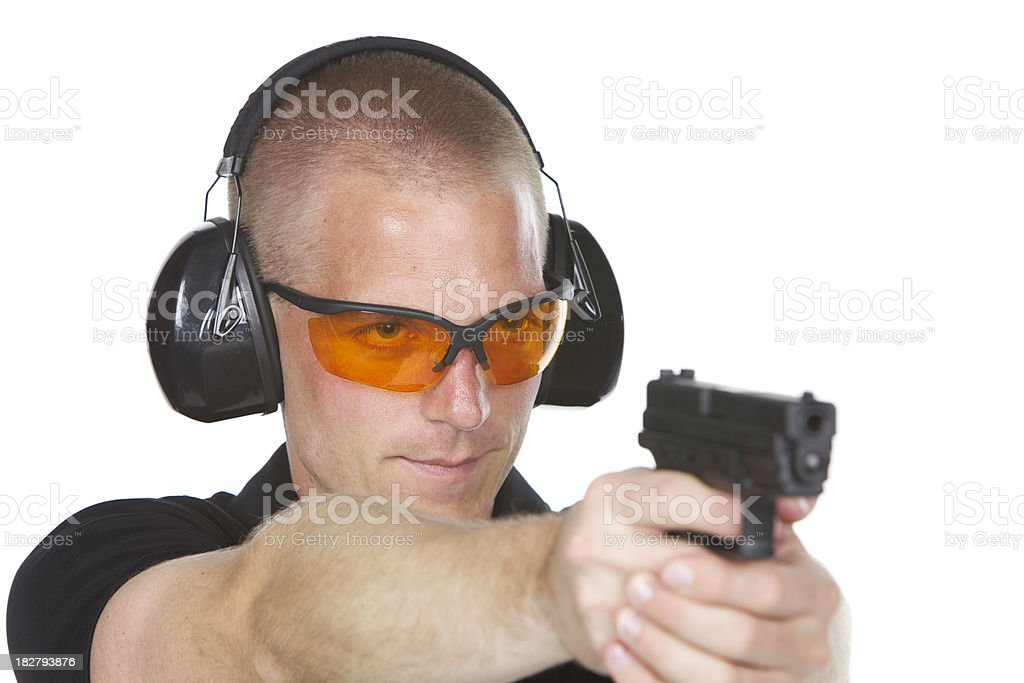 Target Practice royalty-free stock photo