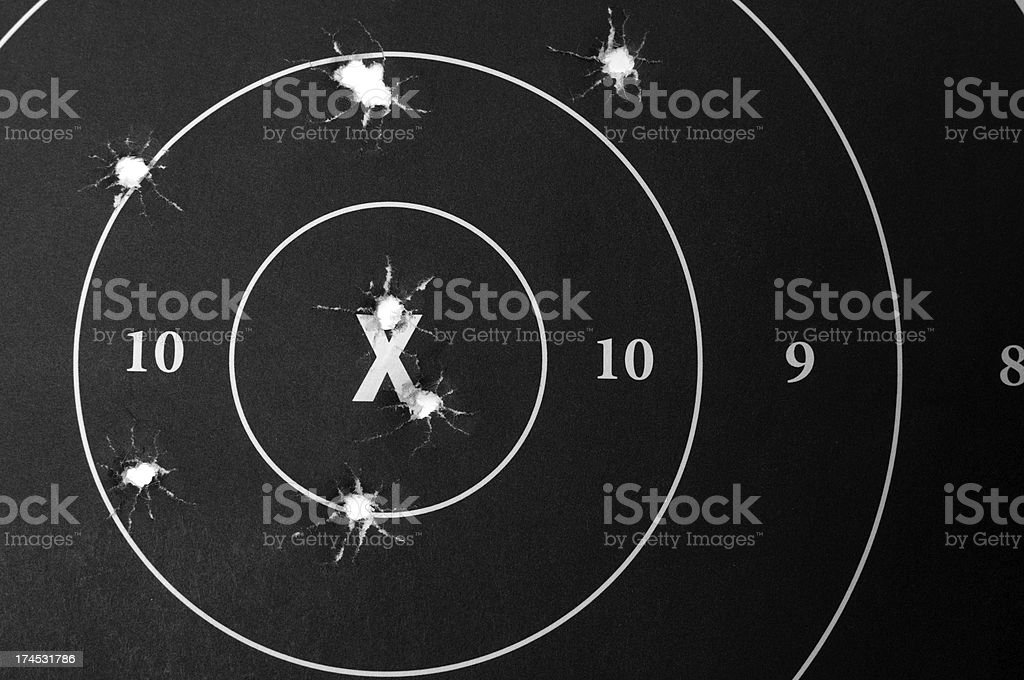 Target Practice Series royalty-free stock photo