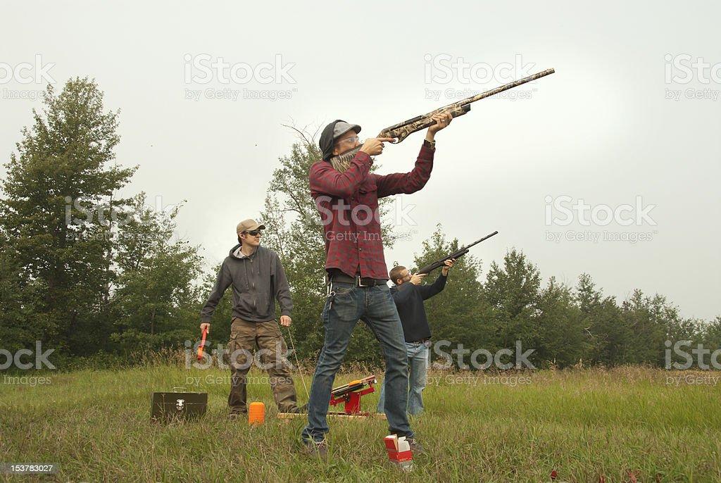 Target Practise royalty-free stock photo