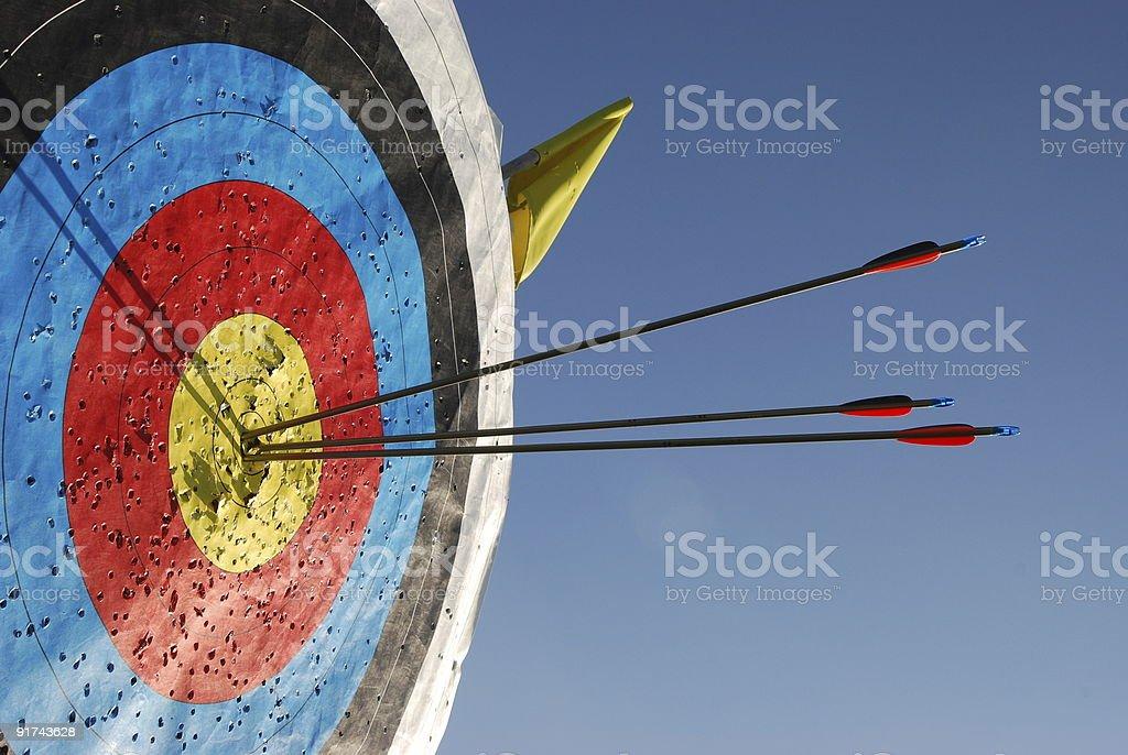 Target Sports royalty-free stock photo