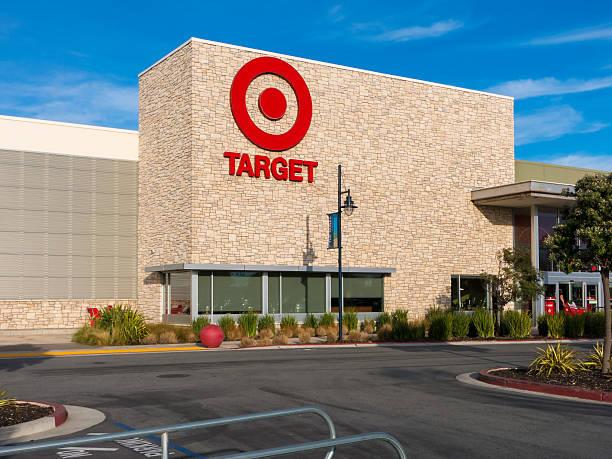 Target Store Exterior stock photo