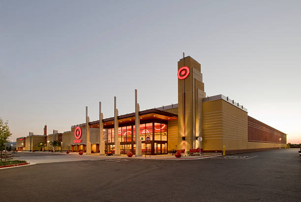 Target Store, Gilroy, CA stock photo