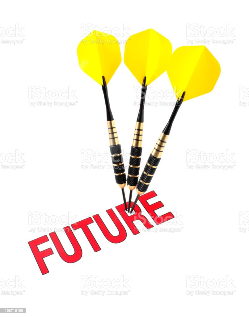 Target the Future royalty-free stock photo