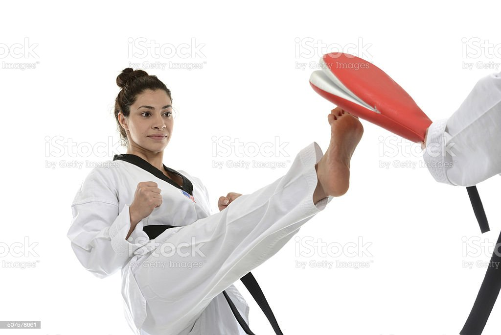 Target Training stock photo
