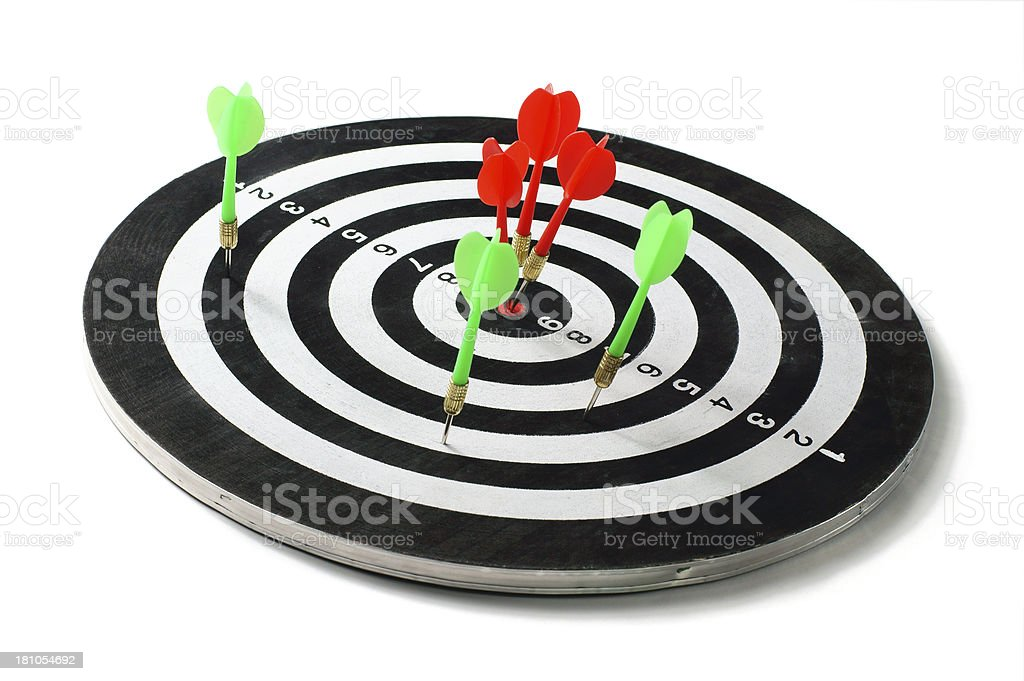Target Winner royalty-free stock photo