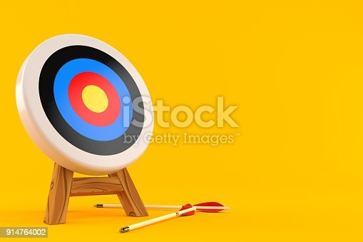 istock Target with arrows 914764002