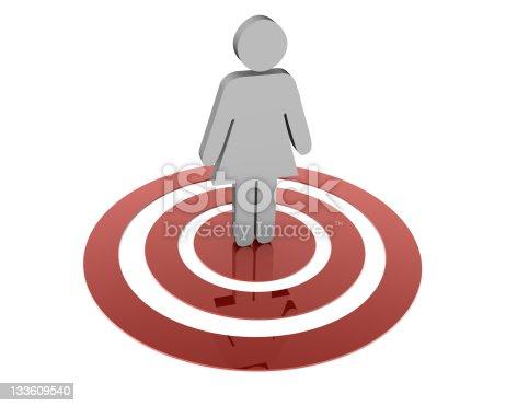 istock Target Woman 133609540