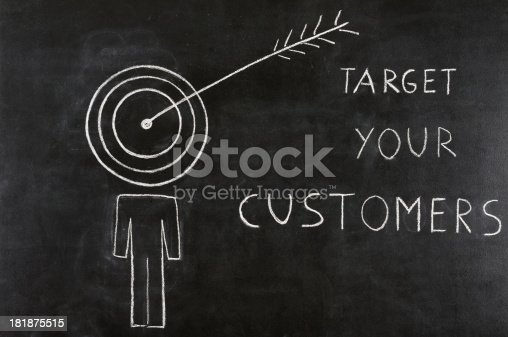 istock Target Your Customer Concept 181875515