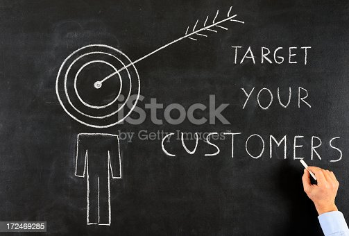 istock Target Your Customers Drawing 172469285
