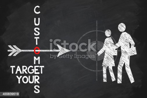 istock Target your customers 455839519