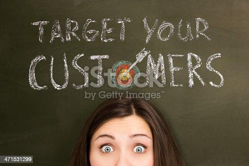 istock Target your customers 471531299