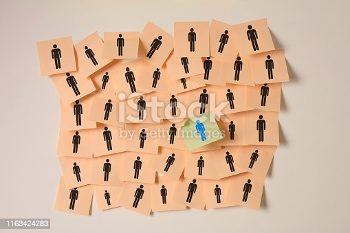 istock Target Your Customers Sticky Notes 1163424283