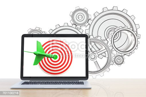 istock Targeting concept 701100216