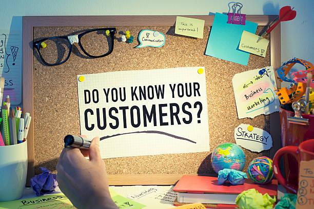 Ciblant les clients - Photo