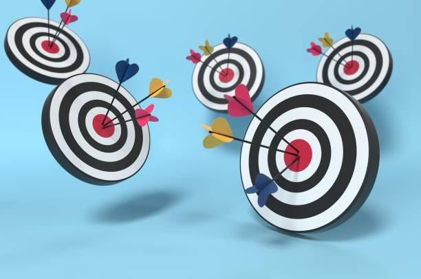 Targets Targets! stock photo