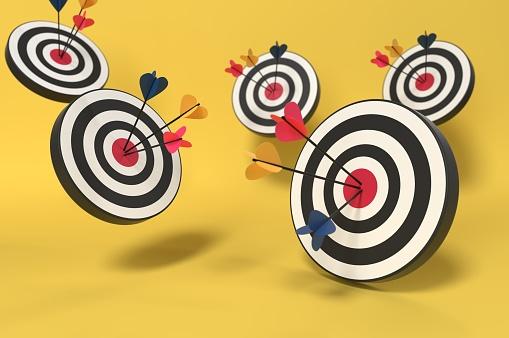 921518946 istock photo Targets Targets! 1196255386