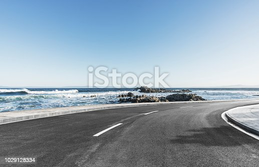 auto advertising background,Big Sur,California,USA.