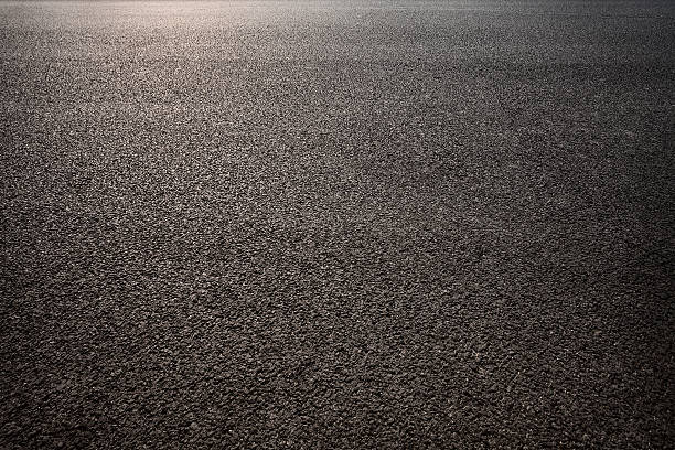 Tarmac road stock photo