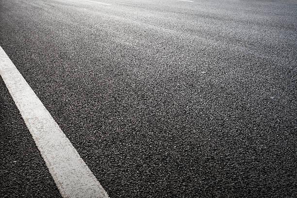 Asfalto strada - foto stock