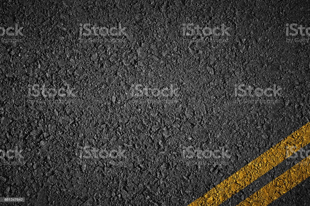 tarmac texture with strpies stock photo