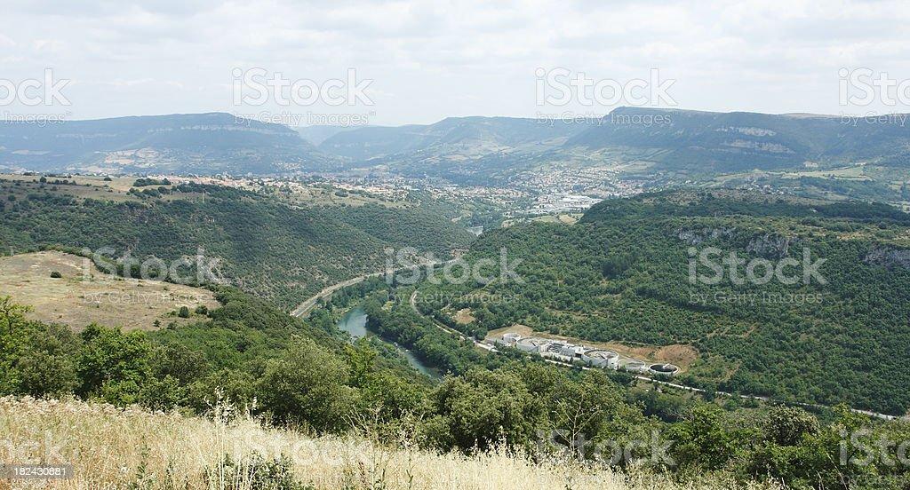 Tarn Valley stock photo