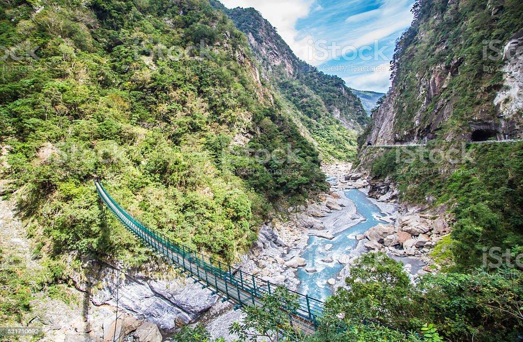 Taroko gorge stock photo
