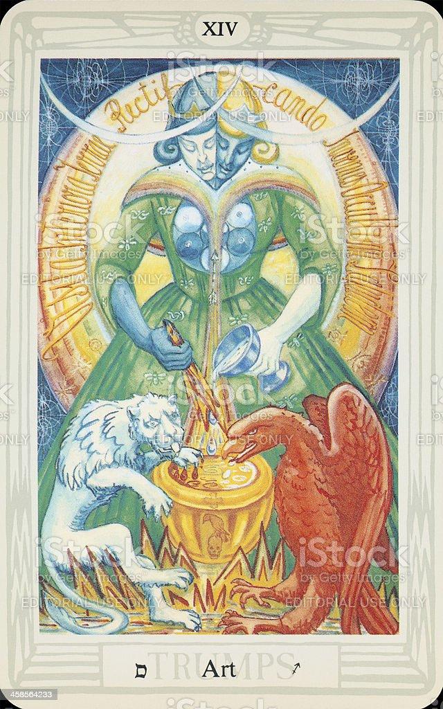 Tarot Card - Art stock photo
