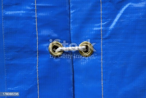 istock Tarp with Grommets and Rope 176065235