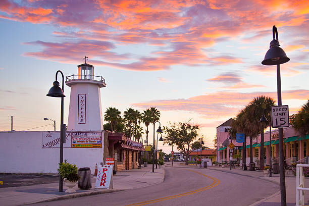 Tarpon Springs FLorida stock photo