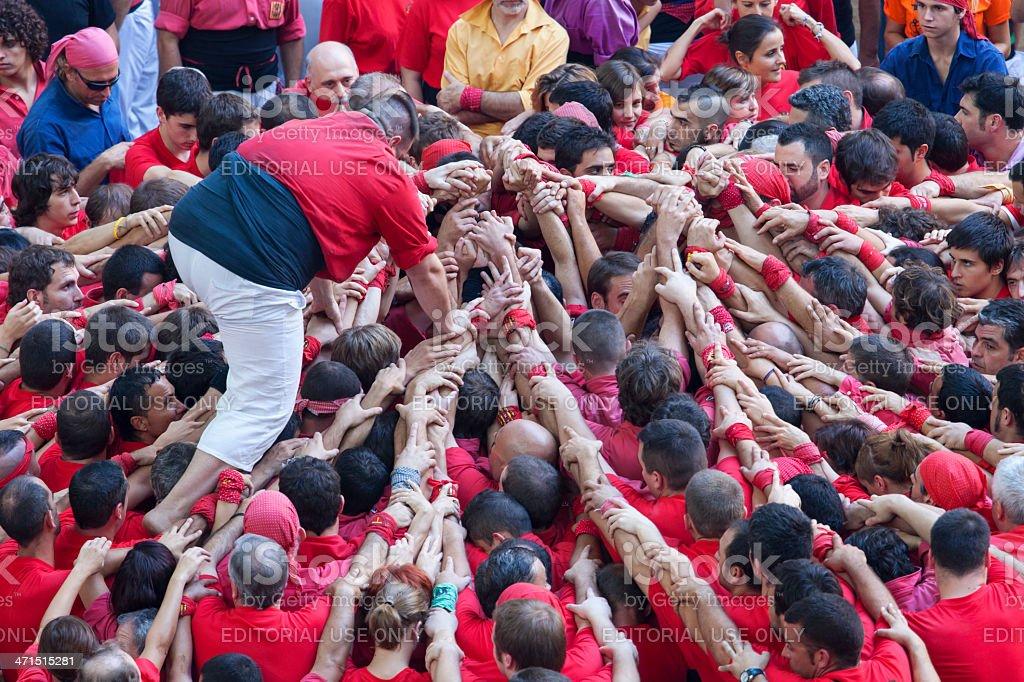 Tarragona, Spain - October 6, 2012 stock photo