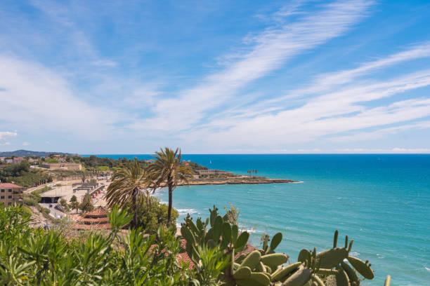 Tarragona, Blick auf einen Strand – Foto