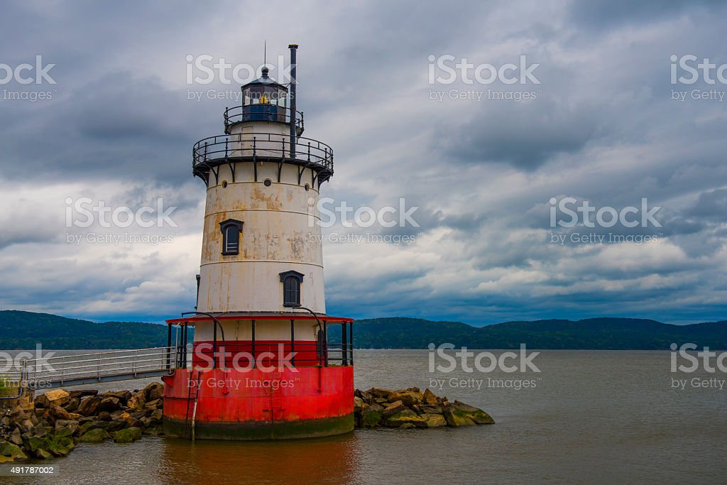 Tarrytown Lighthouse stock photo