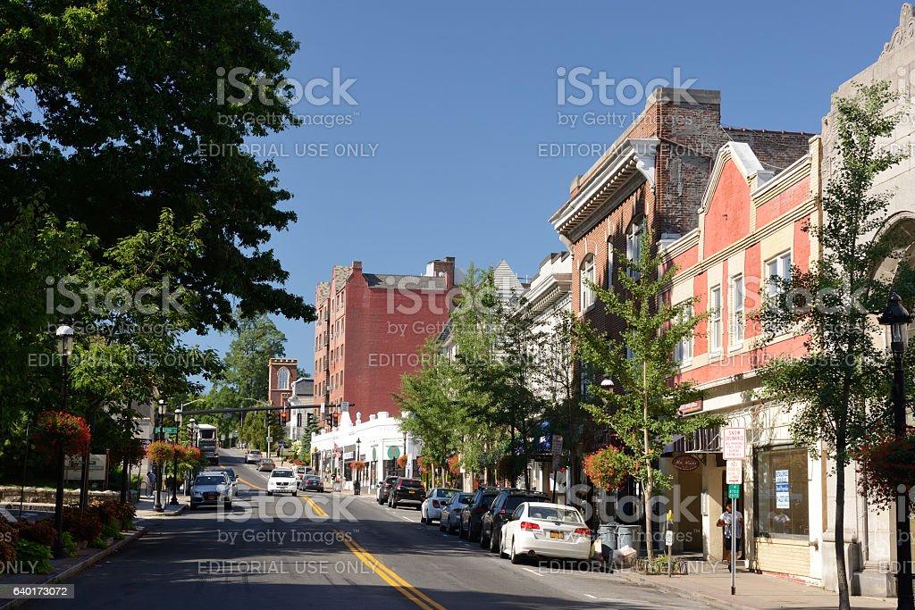 Tarrytown of New York State stock photo