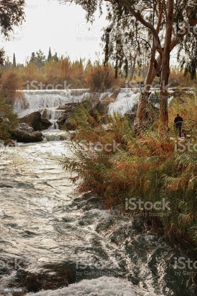 Tarsus Waterfall -Mersin ,Turkey royalty-free stock photo