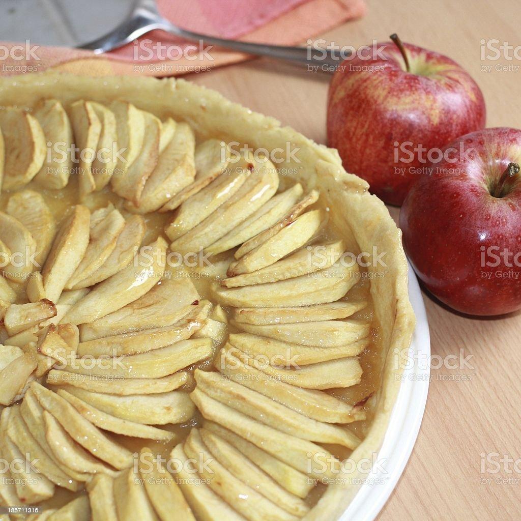tart, apple, dessert royalty-free stock photo
