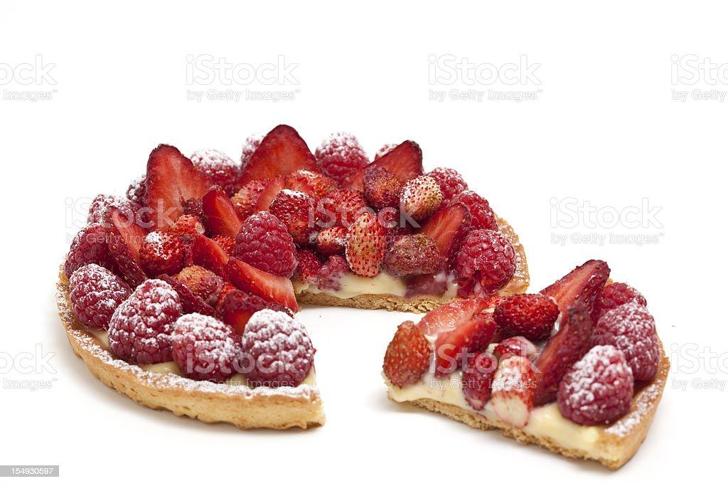 tart with fruit royalty-free stock photo