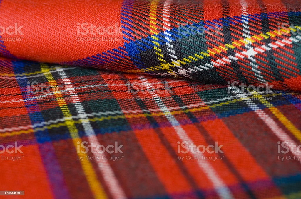 Tartan royalty-free stock photo
