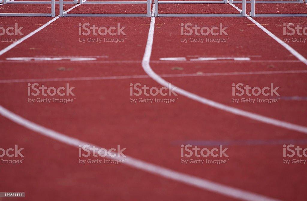 tartan track royalty-free stock photo