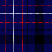 Classic Highlander Scotch Clan Tribe Tartan Design - seamless high resolution and quality pattern tile for 2D design and 3D as background or texture for objects - ready to use.