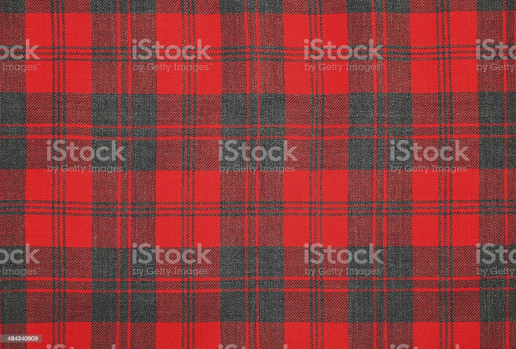 Tartan wool. stock photo
