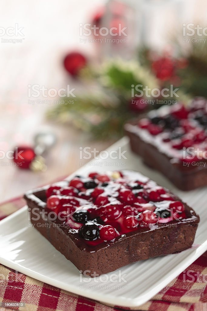 Tarts with fruits. royalty-free stock photo