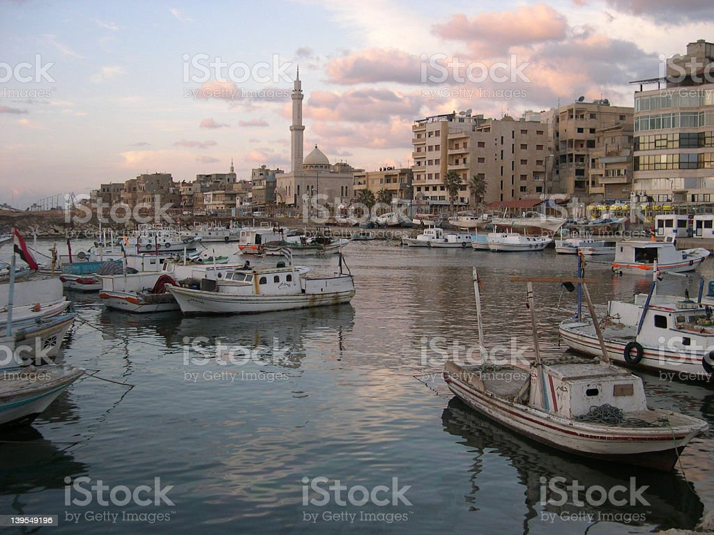 Tartus, Syria, Middle East royalty-free stock photo