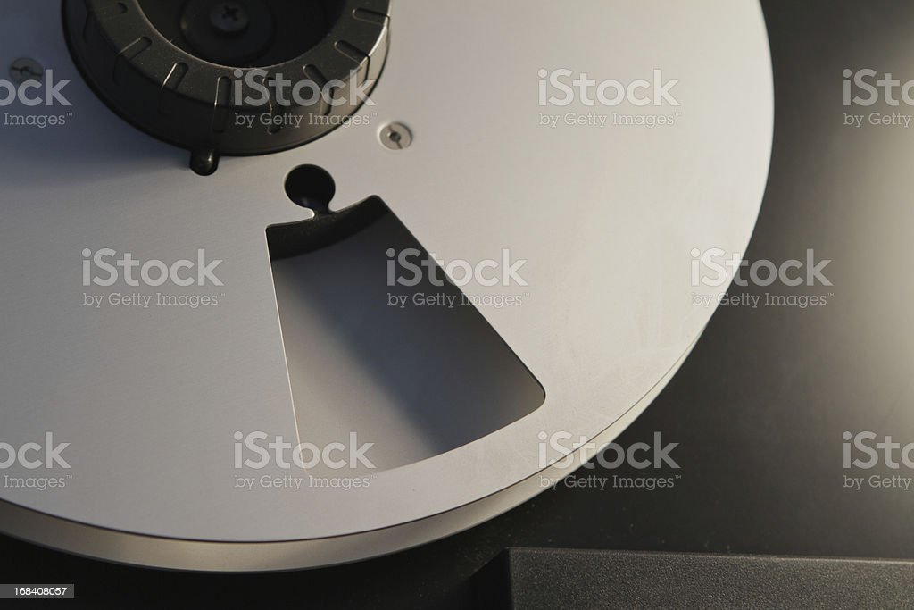 Tascam audio tape stock photo